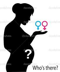 Resultado de imagen para dibujo de mujer embarazada de perfil
