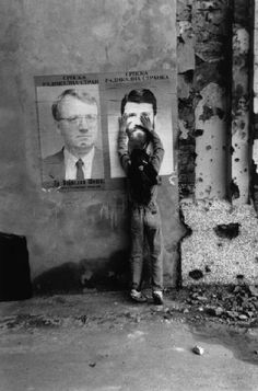 FEDERAL REPUBLIC OF YUGOSLAVIA.Croatia.Vukovar.1994.Election posters.Josef Koudelka