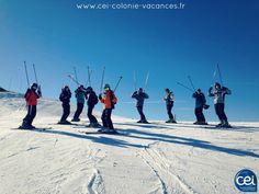 Le #ski c'est fun en #colonie au #cei à #Chatel en #hautesavoie