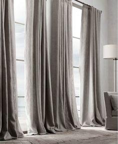 #linen #curtains #linnen #sober #home #wonen #interior #interieur #notmypicture #natural by jesvds