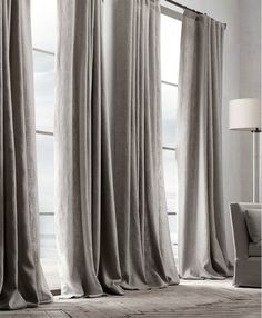 #linen #curtains #linnen #sober #home #wonen #interior #interieur #notmypicture #natural by jesvds