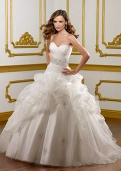 New Hot sale bridal wedding ball gown dresses custom made size 6-8-10-12-14+++