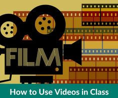 Wonder how to use video in class? Here's a framework you can use to design a…