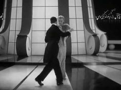 Fred Astaire & Ginger Rogers: Let's Face the Music and Dance - one of their most elegant, emotive dance routines.