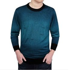 2017 Men Knitting Sweater Fashion Purple Brand Clothing Pull Homme Marque Men Casual Dress O-Neck Sweater Agasalho Masculino Mens Fashion Sweaters, Sweater Fashion, Sweater Outfits, Cool Sweaters, Girls Sweaters, Sweaters For Women, Cashmere Sweater Men, Men Sweater, Cashmere Wool