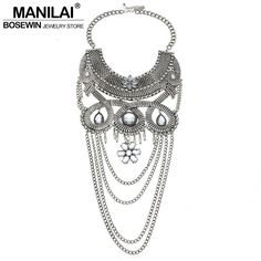 Now on sale in our store:MANILAI Women Vin... Check it out here! http://glowvatechvintage.com/products/manilai-women-vintage-choker-maxi-necklace-fashion-collar-chain-tassel-brand-statement-necklaces-pendants-big-jewelry-bohemia-1?utm_campaign=social_autopilot&utm_source=pin&utm_medium=pin