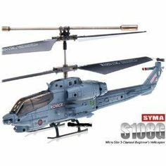 SYMA S108G Radio Controlled Infrared Mini 3CH Marine Cobra RTF Helicopter with Gyro by SYMA. $32.37. Flying time: About 6--8 minutes. Battery: 3.7V 150Mah Li-poly. Feature: Up/down, left/ right,forward/backward. Controlling distance: About 10 meters. Charging time: About 35-45 mimutes (USB charging). Palm Size Scale Toy Helicopter, brings much fun for both Adults and Kids! Outstanding hovering!  Newly released in 2011, in this ultra micro helicopter, it includes a 4-in-1 infrared...