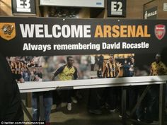 Ian Wright was among those pouring praise on Hull City after the club welcomed Arsenal's support to the KC Stadium on Monday with a sign paying tribute to David Rocastle. Football Info, Free Football, Hodgkin's Lymphoma, Ian Wright, Hull City, Arsenal Fc, 4 Life, Battle, Career