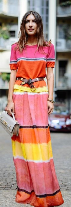Street Style Inspiration Why Summer Is a Fashion Lover's Favorite Season: Maxi Dresses Were Made For Warm Weather