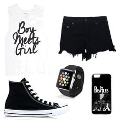 """""""Untitled #2"""" by beatrice-galvosaite ❤ liked on Polyvore featuring rag & bone, Converse and Apple"""