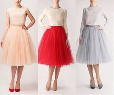 Cheap skirt manufacturer, Buy Quality skirt type directly from China skirt tile Suppliers: All our tulle skirts are custom made, so our price is a little higher than normal aliexpress seller. Tulle Skirt Dress, Tulle Skirts, Chiffon Skirt, Skirt Pleated, Short Skirts, Short Dresses, Casual Holiday Outfits, Ball Skirt, Vintage Skirt