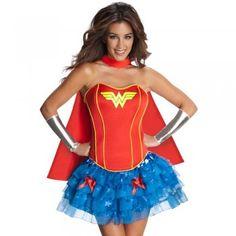 Secret Wishes Official Wonder Woman™ Fancy Dress Costume