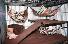 DIY+Ferret+Bed   Ferret Bedding Ideas