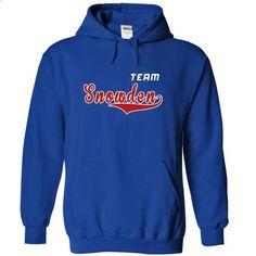 Team Snowden - #cool tshirt #oversized sweater. PURCHASE NOW => https://www.sunfrog.com/LifeStyle/Team-Snowden-dvkeffkwci-RoyalBlue-22281630-Hoodie.html?68278