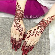 Beautiful Arabic Henna Designs for This Eid 2019 Henna Hand Designs, Dulhan Mehndi Designs, Mehandi Designs, Henna Mehndi, Mehndi Designs Finger, Hena Designs, Arabic Henna Designs, Mehndi Designs 2018, Stylish Mehndi Designs