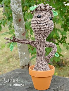 Baby Groot from Guardians of the Galaxy by Maarja Härsing-Värk