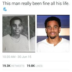 Michael Ealy is definitely a creation of God.