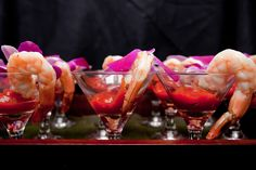 Shrimp Cocktail- Summer wedding at Pearl S. Buck | by Jamie Hollander Catering & Events