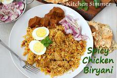 Kitchen Simmer: Spicy Chicken Biryani