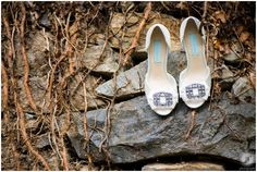 Crossed Keys Inn Wedding Photographer - wedding shoes