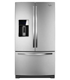 Whirlpool Gold French Door Refrigerator $2,700 (28.6 cu. ft.) With its huge capacity, smudge-resistant finish, and spacious pizza-fitting freezer space, this unit is a real workhorse for big clans.  - GoodHousekeeping.com