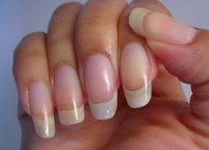 Easy Way For Thick, Healthy Long Nails