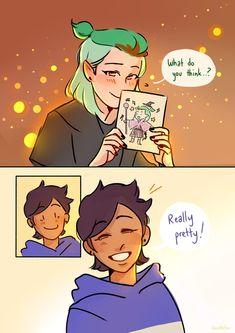 Yuri Comics, Little Miss Perfect, Felt Owls, Owl House, Cute Gay, Little Pony, Cartoon Art, Art Reference, Anime Art