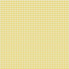 Cotton Vichy– 0,2cm, 19 - Coton - jaune