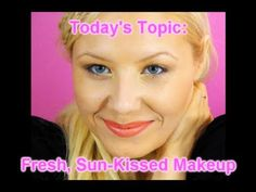 Fresh and Neutral: A Sun-Kissed Makeup Tutorial