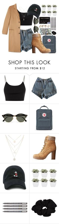 """Who's gonna hold me like ya do?"" by ali-sxn ❤ liked on Polyvore featuring Alexander Wang, American Apparel, Ray-Ban, Fjällräven, Charlotte Russe, Forever 21, Abigail Ahern, River Island, cute and tumblr"