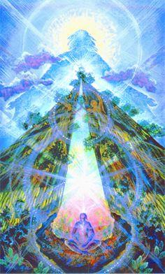Spirit of the Redwoods #visionaryart