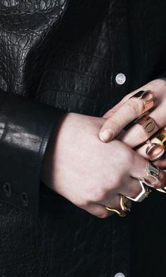 Claudia Ligari AW13  Jewels - Rings