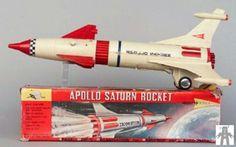 Like no Saturn rocket I've ever seen!