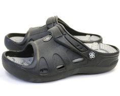 Antelope Tenqoo Womens reflexology insole sandals BlackGray Sandal Clogs67 BM US * Check out the image by visiting the link. (This is an affiliate link) #WomenMulesClogs