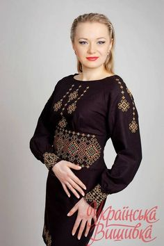 Ukraine, from iryna with love Abaya Fashion, Ethnic Fashion, Boho Fashion, Womens Fashion, Fashion Design, Embroidered Clothes, Embroidered Blouse, Ethno Style, Ukrainian Dress