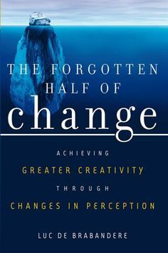 In any change we need to change twice. Once in reality and the other in perception. If not done the change is doomed to fail.