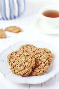 Ginger & Honey Snaps. Recipe by Rachel Allen