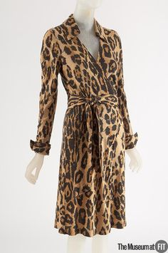 Diane von Furstenberg wrap dress, 1973. Collection of The Museum at FIT.