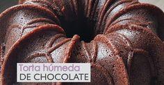 Torta húmeda de chocolate: la más fácil y deliciosa