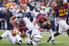 This 2013 version of the Penn State Nittany Lions' offense has fallen in a rut. For the third game in a row, the offense has failed to reach 20 points and reverted to its early third-down deficiencies against Minnesota, converting just one of nine opportunities. Quarterback Christian Hackenberg didn't surpass the 75-yard mark until the fourth quarter. After rushing for 201 yards last week against Illinois, running back Bill Belton fumbled on his first touch and carried the ball just seven…
