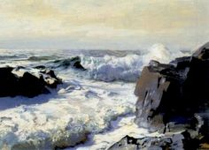 F. Judd Waugh - Pounding Surf