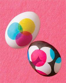 Dot Dot Easter Eggs
