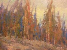 "Dream trees by John P. Weiss Oil ~ 9"" x 12"""