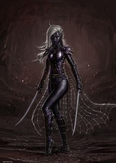 Dark Elf Assassin by SirTiefling