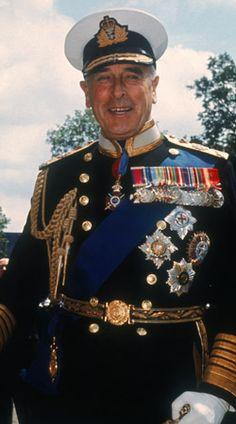 Louis Mountbatten Royal Navy Admiral Of The Fleet