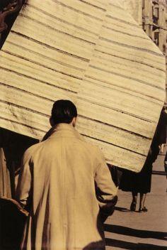 Saul Leiter  Spain, circa 1959  From Saul Leiter (Steidl)