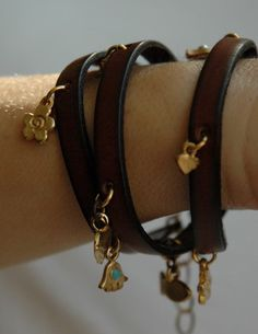 leather wrap bracelet - Google Search