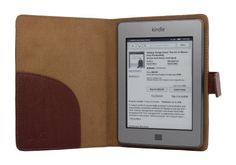 Accessorise(TM) Slim and Light Weight Kindle Touch (Brown) leather case with self-adhesion by Accessorise Your Life. $3.99. Accessorise presents to you, a product of fine workmanship. Specifically designed for the Amazon Kindle Touch, this exceptional case is made of  a well-selected leather, and makes this case exquisite, soft, light and durable.   You'll feel the difference when you pick it up.  The Kindle Touch is thin, sleek and amazing.  Why hide it in a bulky and frame...