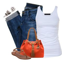 A fashion look from May 2014 featuring Tusnelda Bloch tops, Hudson Jeans jeans and Miz Mooz sandals. Browse and shop related looks. Cute Summer Outfits, Outfits For Teens, Fall Outfits, Casual Outfits, Cute Outfits, Outfit Summer, Matching Outfits, Latest Fashion For Women, Love Fashion