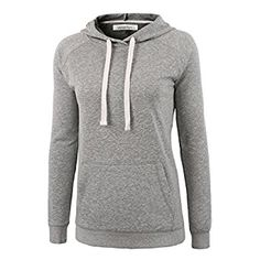 Basic grey hoodie. Classic. On the longer side. Has great reviews. On Amazon, free returns.